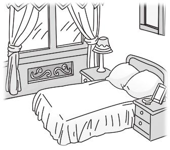 卧室 课文内容图片 淘知学堂